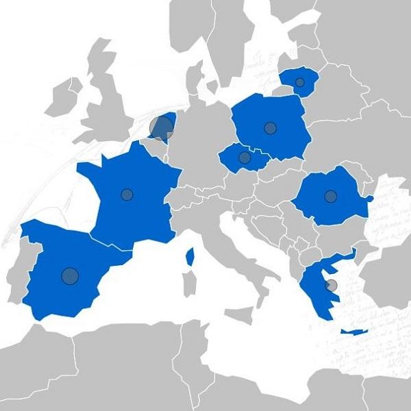 MULTILAW map